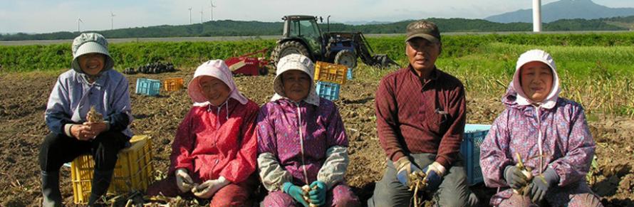 甚作農園農家の方々